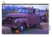 Rusty Truck With Pumpkins Carry-all Pouch