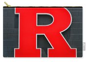Rutgers Block R Carry-all Pouch