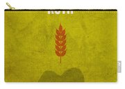 Ruth Books Of The Bible Series Old Testament Minimal Poster Art Number 8 Carry-all Pouch