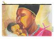 Rwandan Maternal Kiss Carry-all Pouch