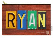 Ryan License Plate Name Sign Fun Kid Room Decor. Carry-all Pouch