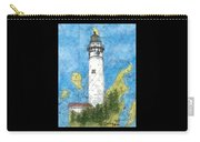 S Manitou Island Lighthouse Mi Nautical Chart Map Art Carry-all Pouch