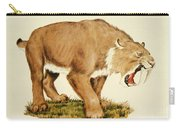 Sabretooth Cat Carry-all Pouch