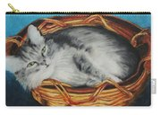 Sabrina In Her Basket Carry-all Pouch