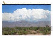 Sacramento Mountains Storm Clouds Carry-all Pouch by Jack Pumphrey