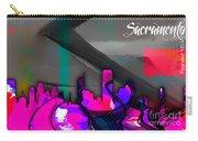 Sacramento Skyline Watercolor Carry-all Pouch