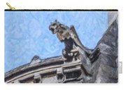 Sacre Coeur Gargoyle Carry-all Pouch