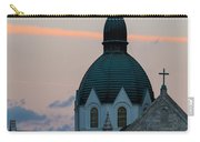 Sacred Heart At Sundown Carry-all Pouch