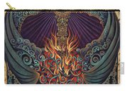 Sacred Heart Carry-all Pouch by Ricardo Chavez-Mendez