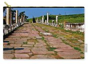 Sacred Road To Asclepion In Pergamum-turkey  Carry-all Pouch