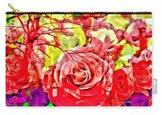 Sacred Roses Carry-all Pouch