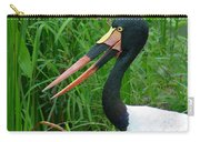 Saddle Billed Stork-00139 Carry-all Pouch