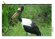 Saddle Billed Stork-136 Carry-all Pouch