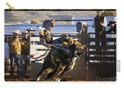 Saddle Bronc Riding Competition Carry-all Pouch