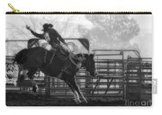 Saddle Bronc Riding Carry-all Pouch