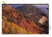 Saddle Mountain Autumn-sq Carry-all Pouch
