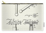 Safety Razor Patent 1937 Carry-all Pouch