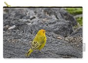 Saffron Finch Hawaii Carry-all Pouch