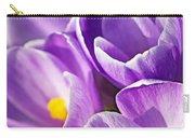 Saffron Flowers. Carry-all Pouch