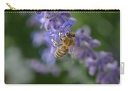 Sage Bee Carry-all Pouch