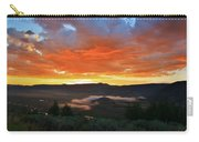 Sage Grass At Sun Up Carry-all Pouch