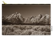 Sagebrush And Tetons Carry-all Pouch