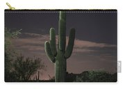 Saguaro At Sunset Carry-all Pouch