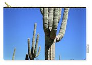 Saguaro At The Saguaro National Park Carry-all Pouch