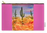 Saguaro Cactus Desert Landscape Carry-all Pouch