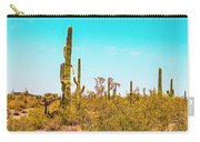 Saguaro Cactus In Organ Pipe Monument Carry-all Pouch