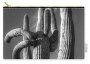 Saguaro Cactus Monochrome Carry-all Pouch