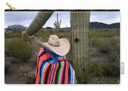 Saguaro Cactus The Visitor 1 Carry-all Pouch