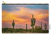Saguaro Desert Life Carry-all Pouch