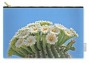Saguaro Flowers On Top Carry-all Pouch