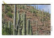 Saguaro Forest In The Superstitions Carry-all Pouch