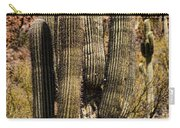 Saguaro Of Many Arms Carry-all Pouch