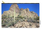 Saguaro On The Apache Trail Carry-all Pouch