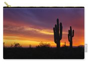 Saguaro Sunset II  Carry-all Pouch