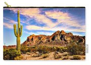 Saguaro Superstition Mountains Arizona Carry-all Pouch