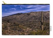 Saguaro View No.1 Carry-all Pouch