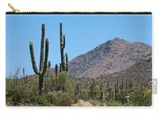 Saguaros And Mountain Carry-all Pouch