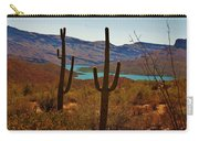 Saguaros In Arizona Carry-all Pouch