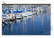 Sail Boats Docked In Marina Carry-all Pouch