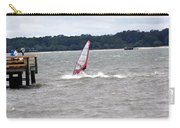 Sailboarder At Hilton Head Island Beach Carry-all Pouch