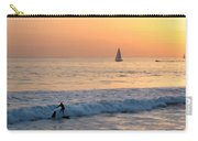 Sailboats And Surfers Carry-all Pouch