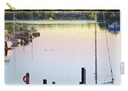 Sailboat At Sunrise Carry-all Pouch