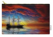 Sailboat Fractal Carry-all Pouch