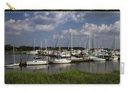 Sailboat Harbor At St. Simon's Island Carry-all Pouch