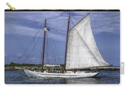 Sailboat In Cape May Channel Carry-all Pouch