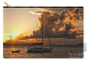 Sailboat In Sunset Carry-all Pouch